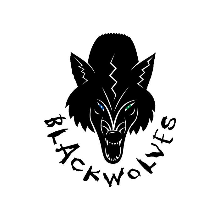 CGHA Blackwolves Logo