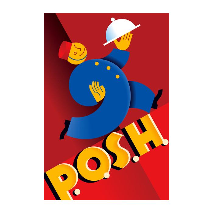 P.O.S.H. Brand Logo
