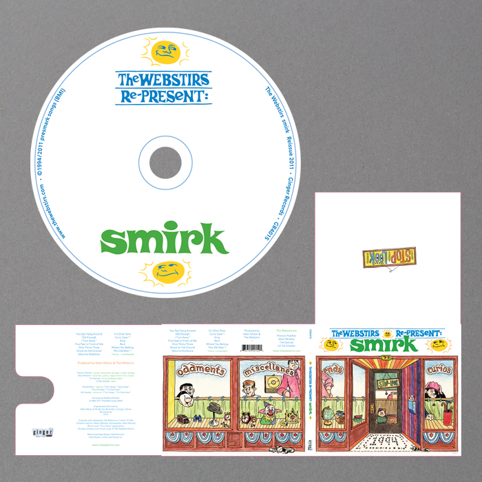 "The Webstirs ""Smirk"" CD"