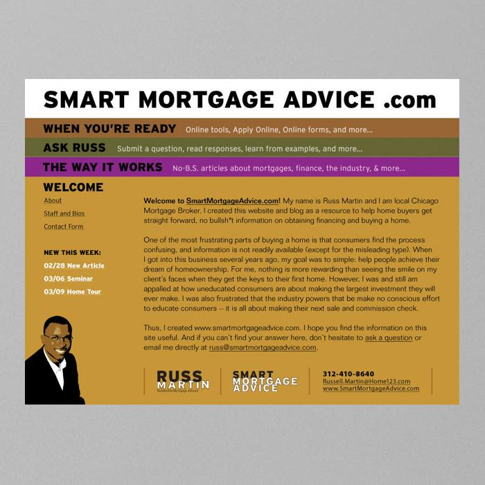 Russ Martin Residential Mortgage Advisor Identity
