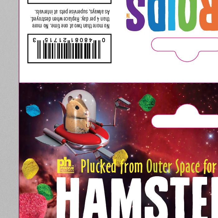 Prevue HAMSTEROID BAG Hang Tag