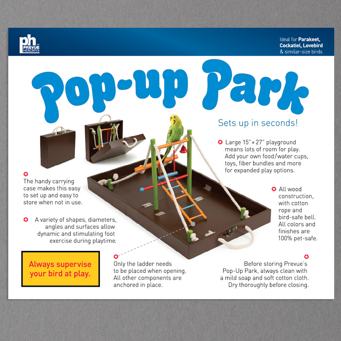 Prevue POP-UP PARK Package