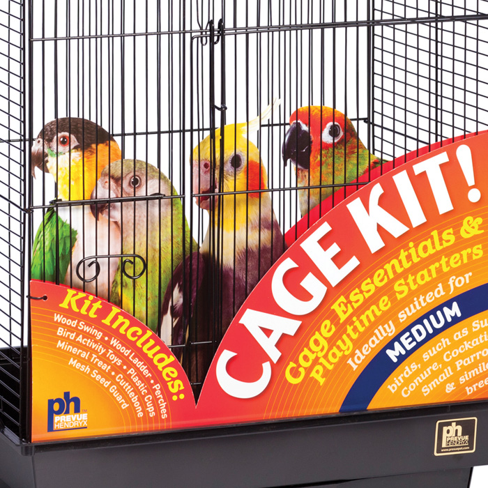 Prevue CAGE KITS Point Of Purchase