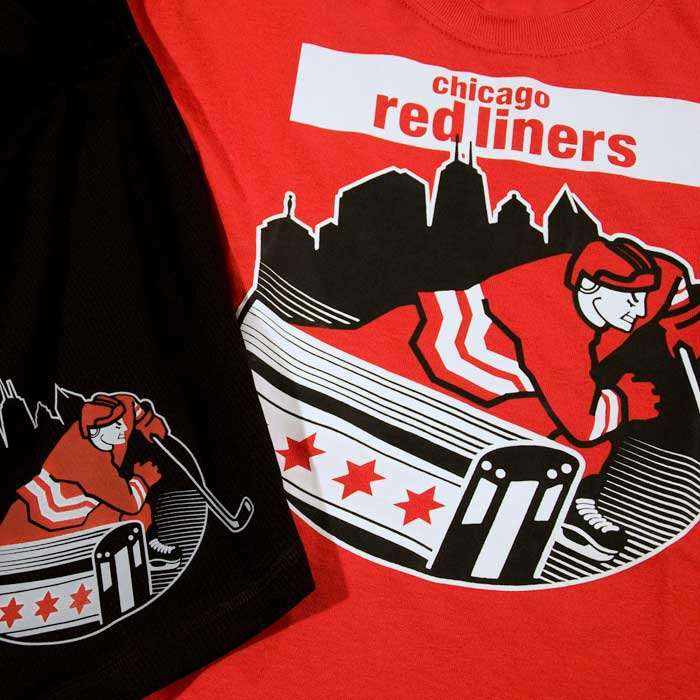 CGHA Red Liners Brand