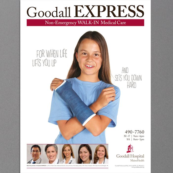 Goodall Hospital GOODALL EXPRESS Campaign