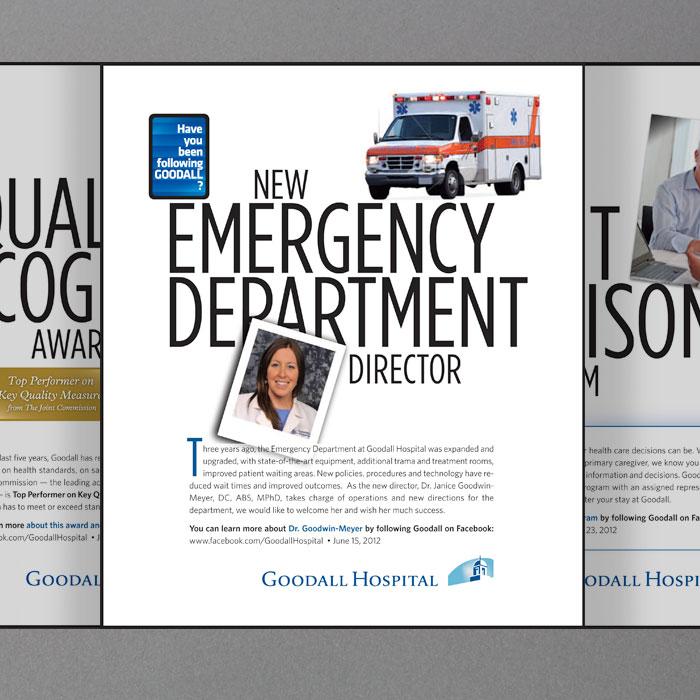 """Goodall Hospital """"Follow Goodall"""" Campaign"""