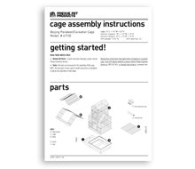 PREVUE Assembly Sheet Guides