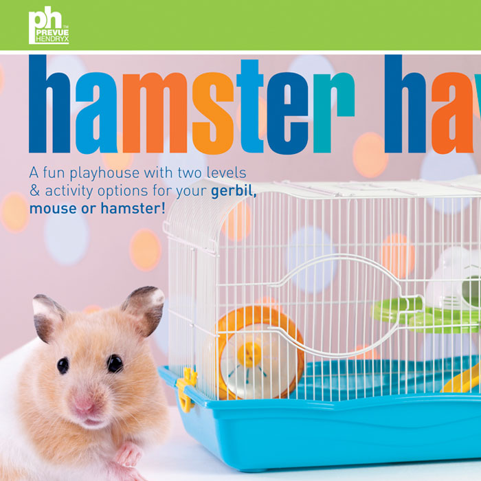 PREVUE Hamster Haven Labels