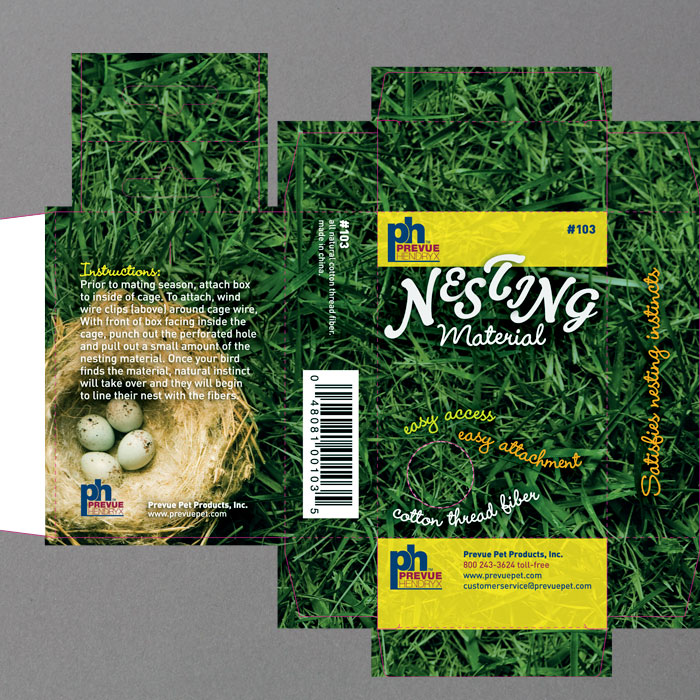 PREVUE Nesting Materials Package
